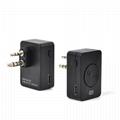 Bluetooth Acoustic Tube Earpiece Headset For Two Way Radio Baofeng Kenwood TK  3