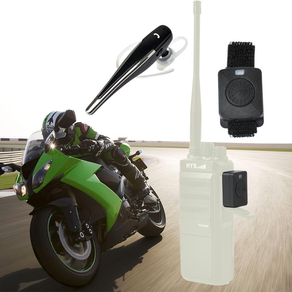 Bluetooth Acoustic Tube Earpiece Headset For Two Way Radio Baofeng Kenwood TK  11
