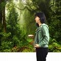 Bluetooth Acoustic Tube Earpiece Headset For Two Way Radio Baofeng Kenwood TK  15