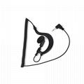 单听耳挂式对讲机耳机3.5mm