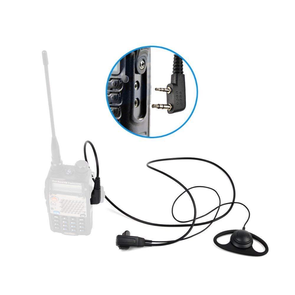 帶有VOX音量調節的耳挂式耳機 D20S-K-5 4