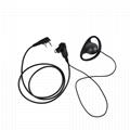 帶有VOX音量調節的耳挂式耳機 D20S-K-5 5