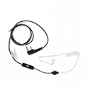 2 Pin Covert Air Acoustic Tube Headset