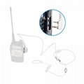 2 Pin Covert Air Acoustic Tube Headset Earpiece Earbud With PTT MIC 5
