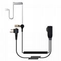 Surveillance Headset Earpiece PTT