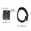 2Pin wireless Bluetooth Earpiece with PTT Mic TC-BL04WM 4