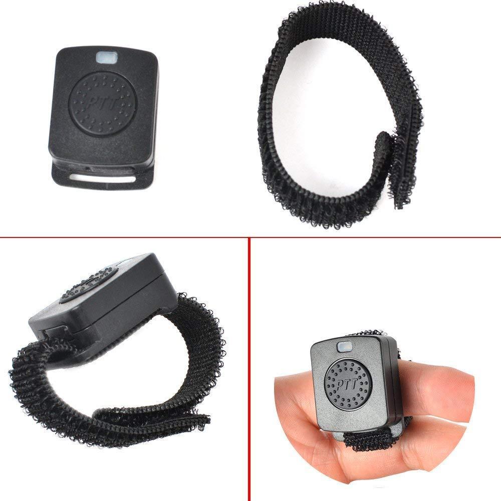 2Pin wireless Bluetooth Earpiece with PTT Mic TC-BL04WM 5