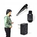 2Pin wireless Bluetooth Earpiece with PTT Mic TC-BL04WM 6