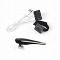 2Pin wireless Bluetooth Earpiece with PTT Mic TC-BL04WM 7