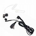 Surveillance Headset Earpiece PTT Mic