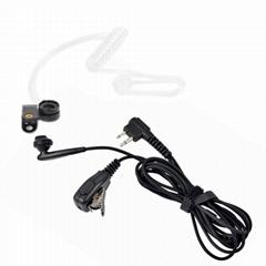 带有VOX语音调节的耳挂式&透明管耳机KHYS02-M