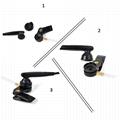 帶有VOX語音調節的耳挂式&透明管耳機KHYS02-K 3