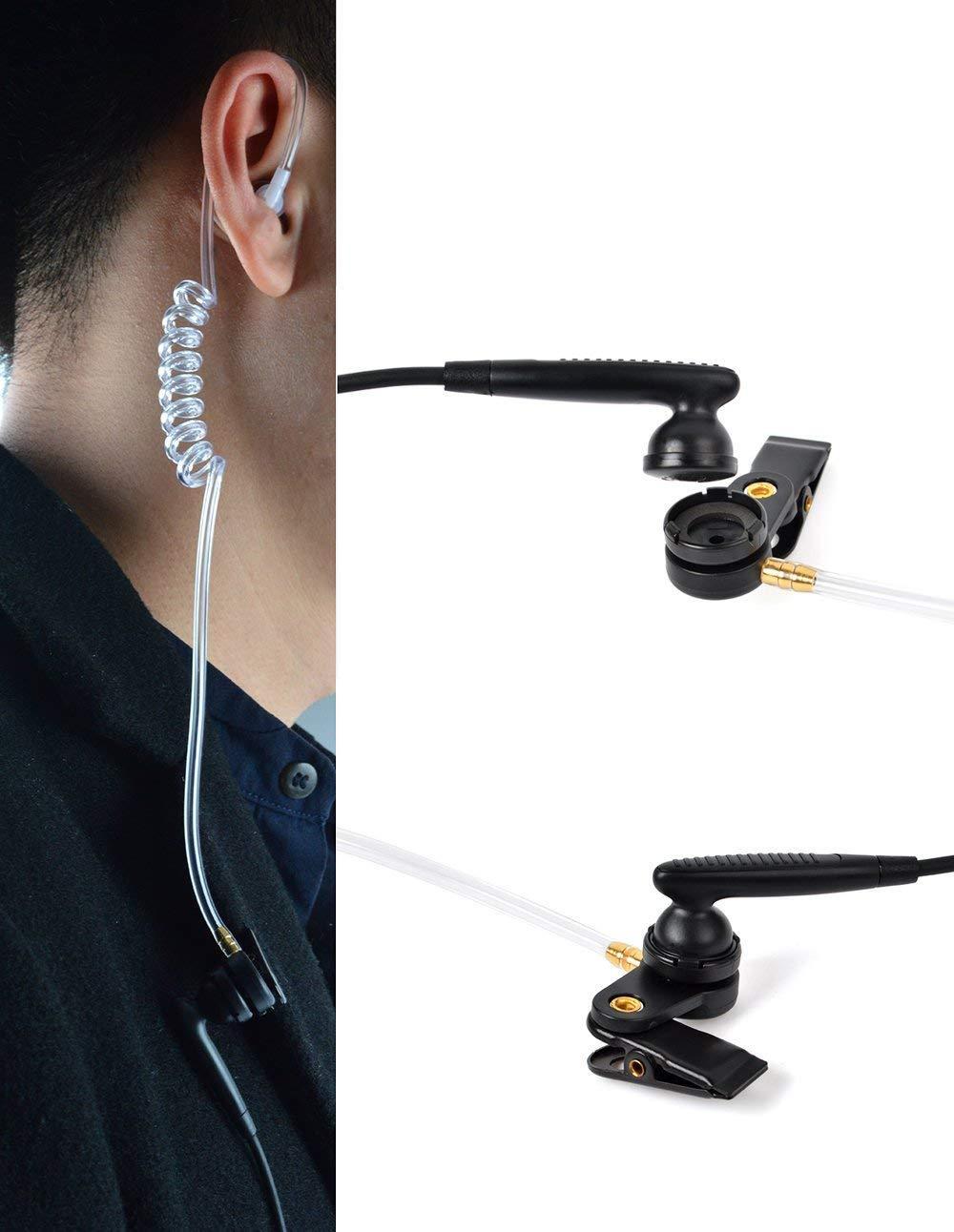 帶有VOX語音調節的耳挂式&透明管耳機KHYS02-K 4