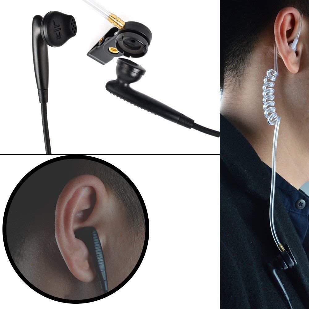 帶有VOX語音調節的耳挂式&透明管耳機KHYS02-K 5