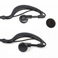 HYS Handheld Ham Radio Earpiece earphone headset with PTT Mic 3