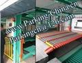 Auto parking system comb puzzle parking