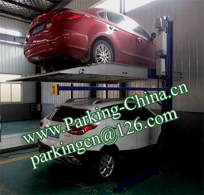 Car Parking Lift 2 post elevator family double garage parking at basement 3