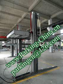 China Car Parking Lift 2 post elevator family double garage parking at basement 4