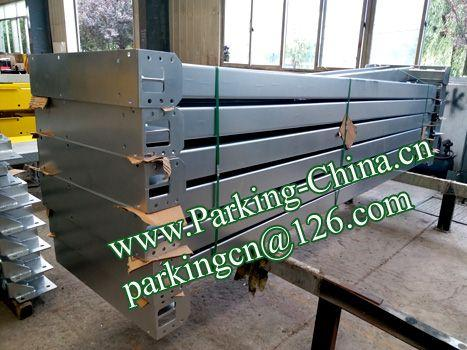 China Car Parking Lift 2 post elevator family double garage parking at basement 6