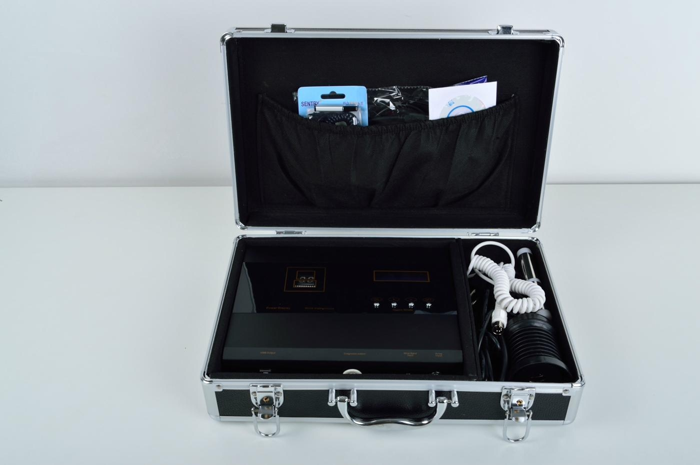 Quantum magnetic analyzer with detox foot spa 5