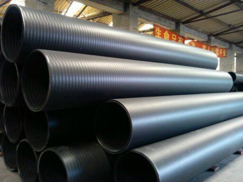 四川HDPE高密度聚乙烯中空雙壁纏繞管 2