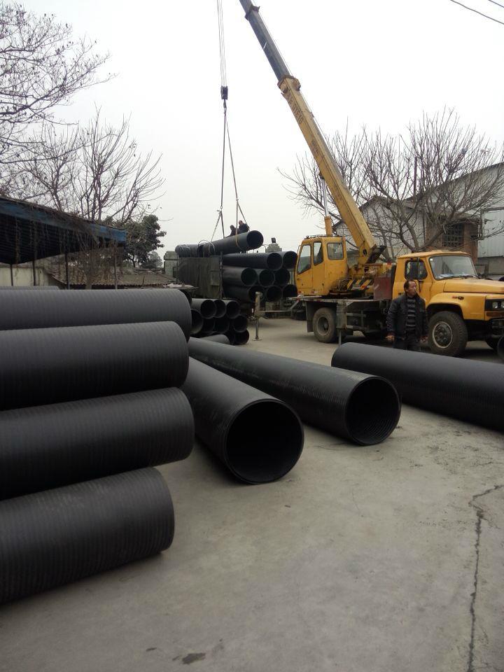 四川HDPE高密度聚乙烯中空雙壁纏繞管 4