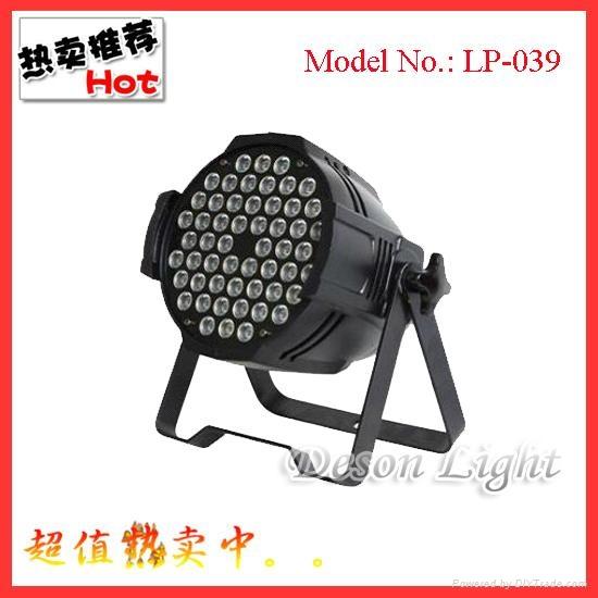 54pcs 3w LED rgbw PAR light 1