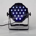 pro 54pcs 3w LED rgbw PAR can uplight led stage light