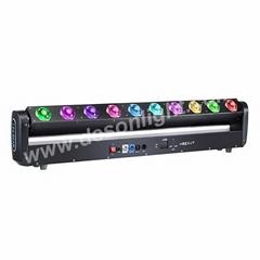 10x40W rgbw led wall washer beam moving head dmx matrix dj light LM-1040