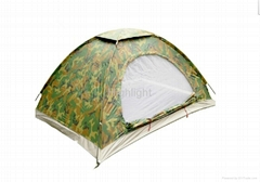 2 person single layer ourdoor camping tent