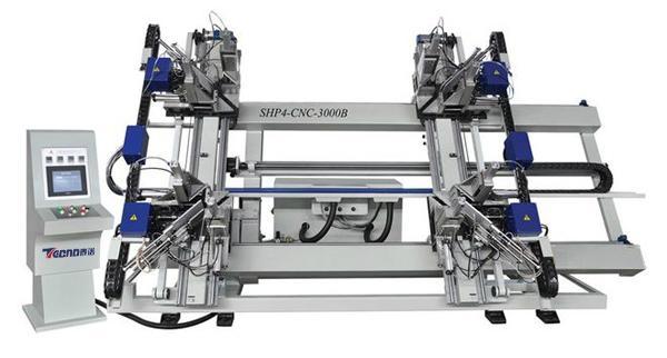 PVC Window and door Machine-CNC Vertical  Four-point Welding Machine  1