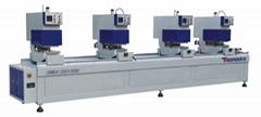 PVC Window and door Machine-Four-head  Seamless Welding Machine