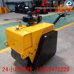 青岛压路机厂家WYL-S600手扶双轮压路机支持定制