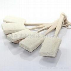 木柄木板絲瓜刷