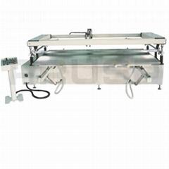 Large Format Sliding Table Screen Printing Machine