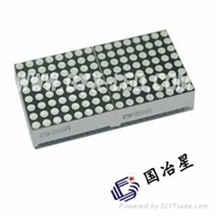 32mm*32mm P4.0mm rgb 8*8 dot matrix digital led