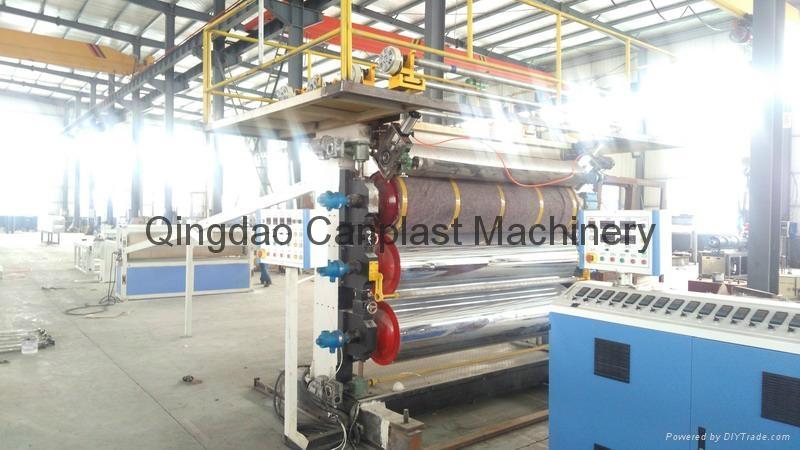 PVC Marble Panel Production Line 1