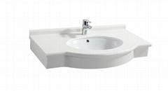 artificial stone basin/counter top