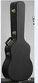 Wooden acoustic guitar case ,hard PVC