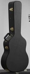 Classical wooden guitar case