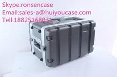 Mic Receiver Rack Case of 6US/ABS 6U