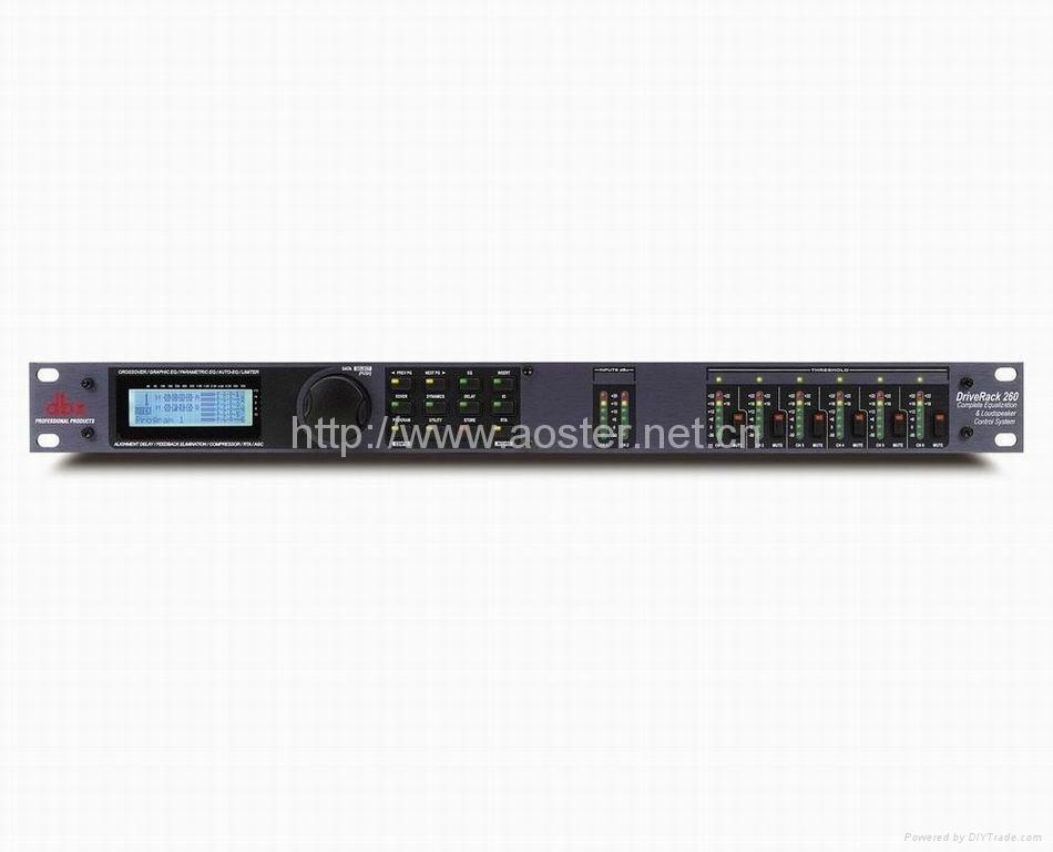DBX Drive Rack 260/Exporting Version Speaker management 1