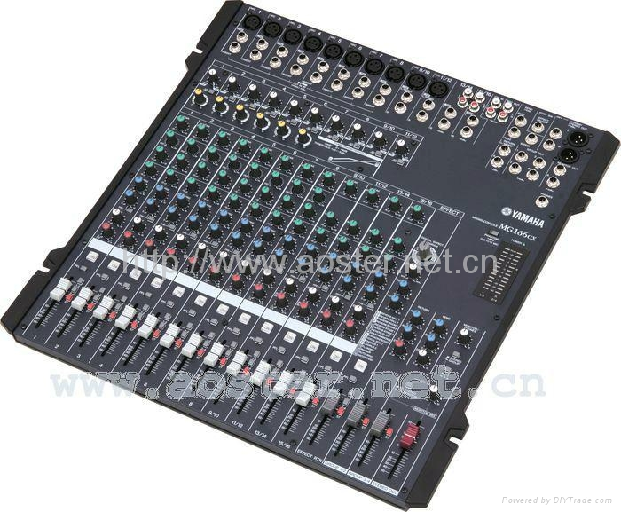 Yamaha mg166cx 16 channel live mixer with digital effect for Yamaha 16 channel mixer mg16 4
