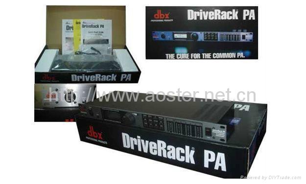 Professional audio processor DBX DriveRack PA /Loudspeaker Management System 1