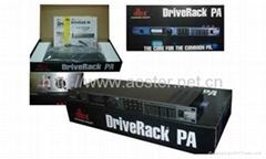 Professional audio processor DBX DriveRack PA /Loudspeaker Management System