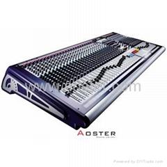 Soundcraft GB8- 40 Channel Live Audio Mixer Plus Flight Case