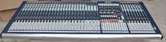 Soundcraft GB8-32 Channels Sound Mixer +Flight case