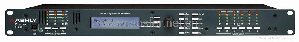 Ashly 3.6SP Loudspeaker Management System/3 Input,6Output