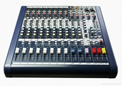 Soundcraft MFX8 8 channel Mixing Console/Exporting Version