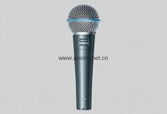 Shure BETA 58A - Dynamic Microphone 4A 1:1 Top